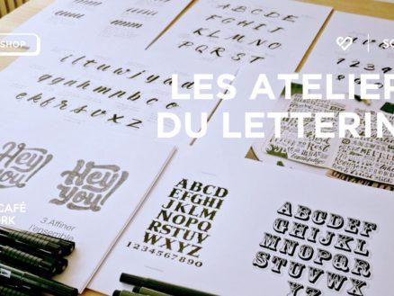 Les Apprentis Lettreurs - les ateliers du Lettering