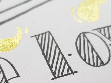Les Apprentis Lettreurs - Test du papier Hand Lettering