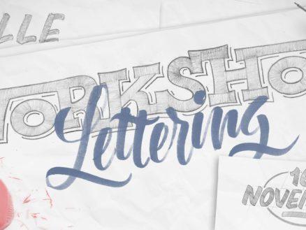 Les Apprentis Lettreurs - Workshop lettering à Lille