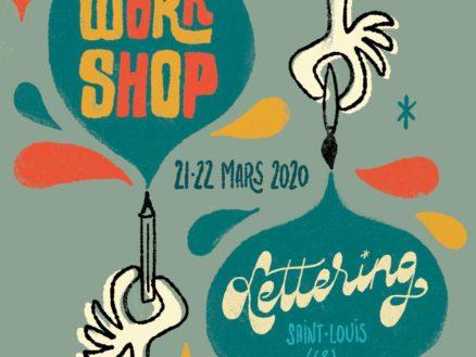 Les Apprentis Lettreurs - Workshop à Saint-Louis avec Francis Chouquet
