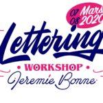 Les Apprentis Lettreurs - Workshop avec Jérémie Bonne