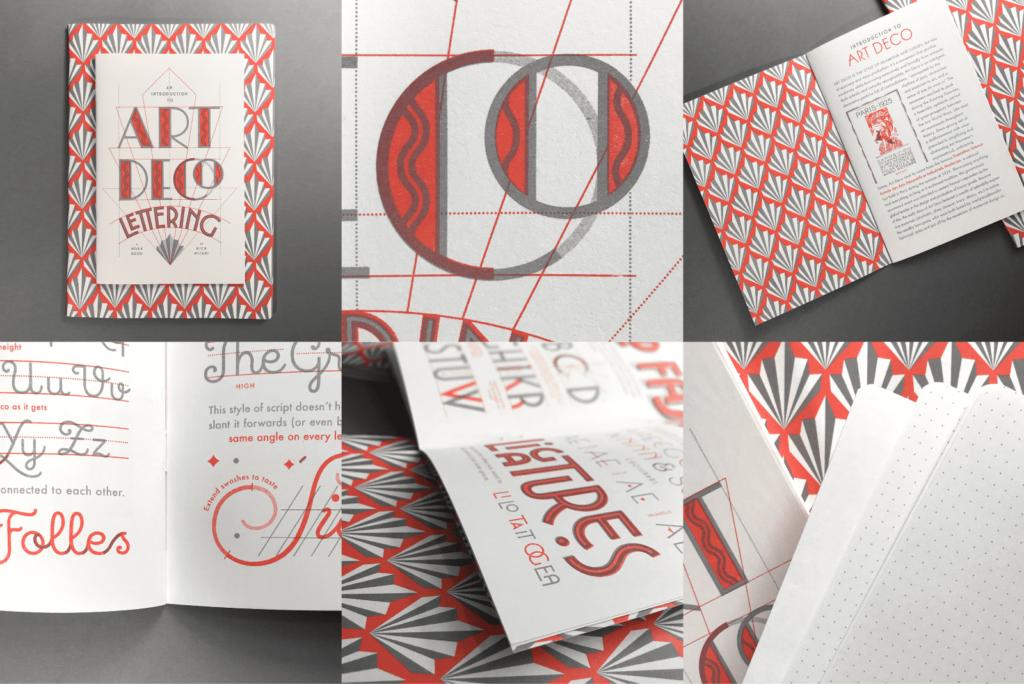 Les apprentis lettreurs - Carnet sur le style Art Déco par Nick Misani