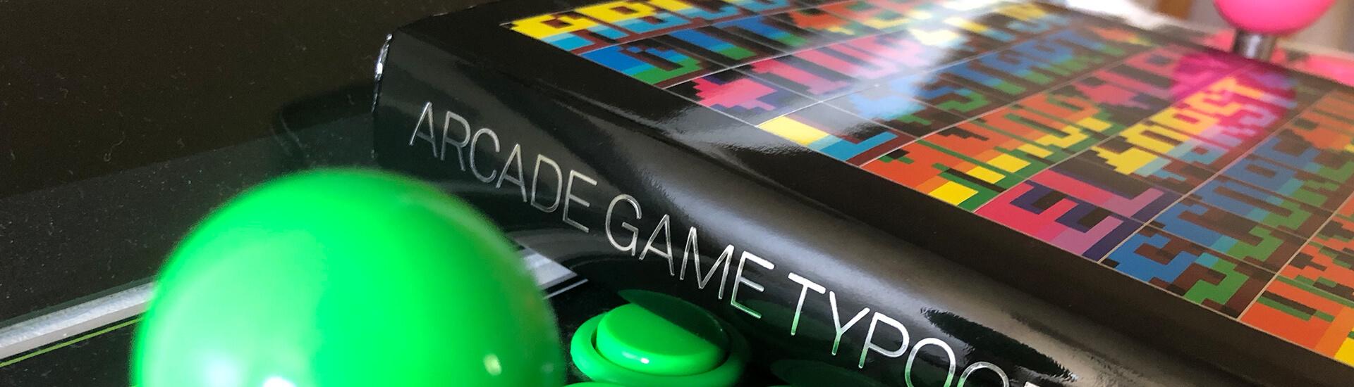 les-apprentis-lettreurs-review-livre-arcade-game-typography-couverture