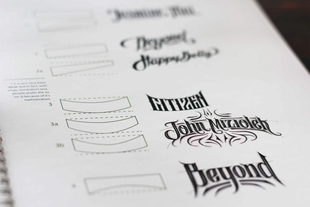 Aperçu du PDF Handlettering Details Typography de Biksence